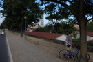 Lucca, bike path along the wall