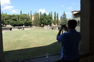 And all the way across town at the Roman amphitheater