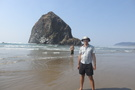 Haystack Rock the other side
